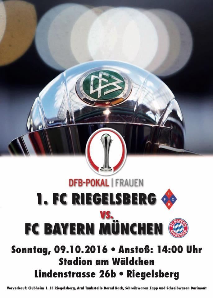 DFB Pokal Frauen - 1. FC Riegelsberg vs. FC Bayern München