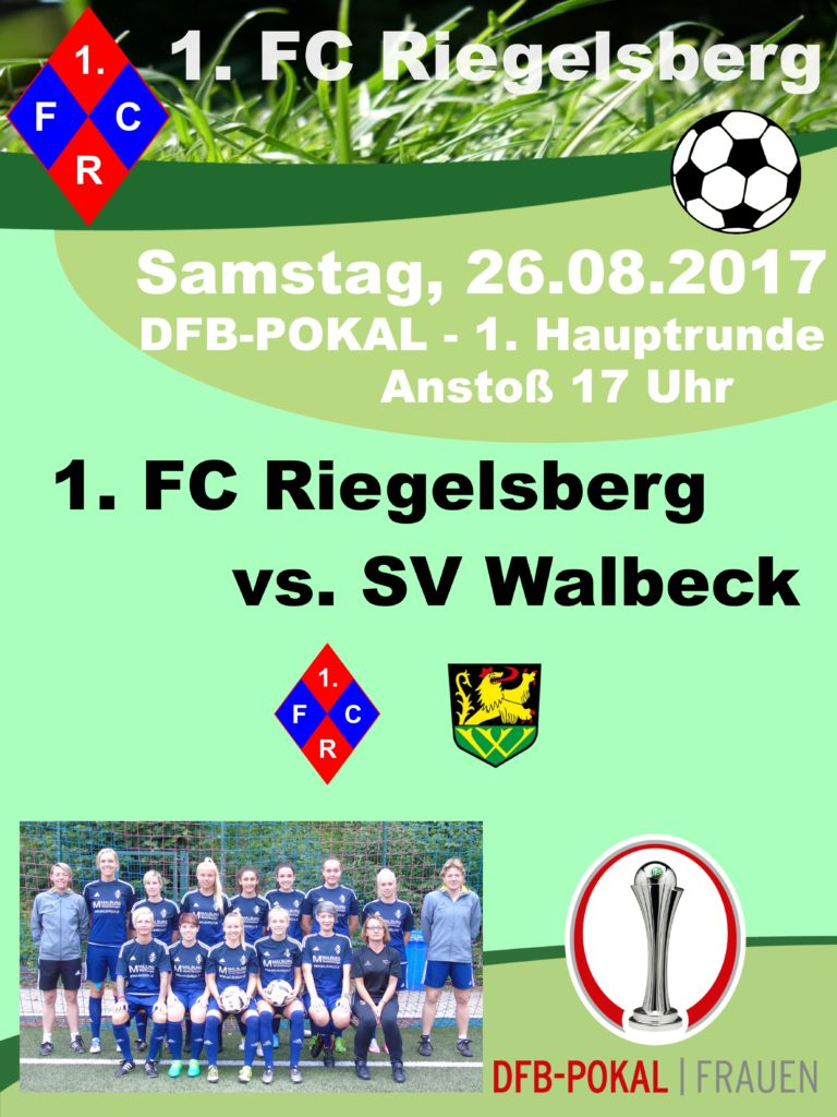 1. FC Riegelsberg DFB-Pokal 1. Hauptrunde SV Walbeck