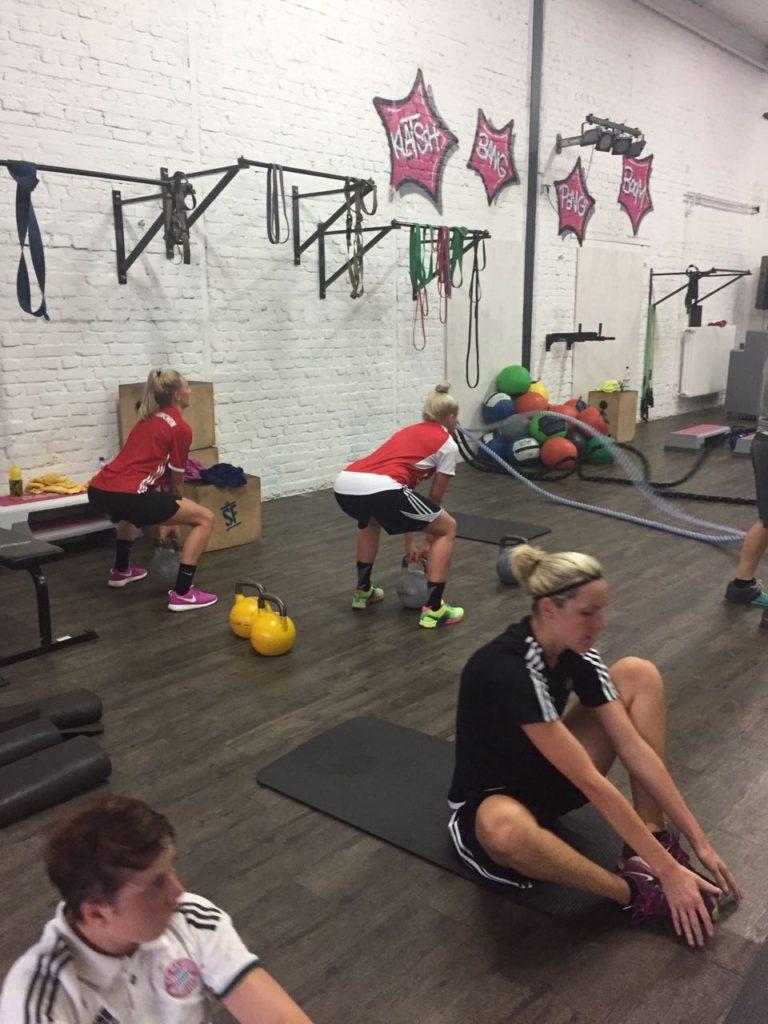 Frauen Saisonvorbereitung 17/18 P.M.Box Saarbrücken 01.08.17