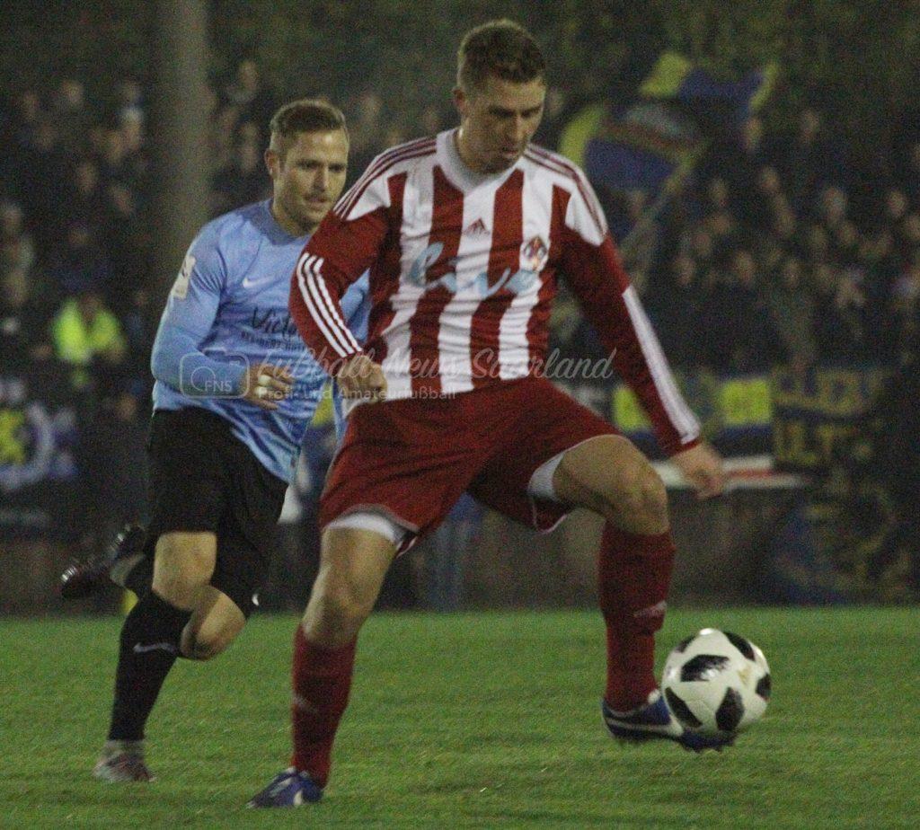 Herren Saarlandpokal Achtelfinale 2017 1. FC Riegelsberg-1. FC Saarbrücken (1 : 13)